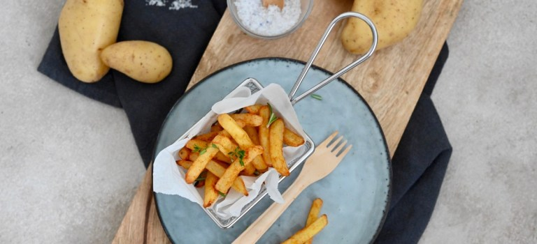 Pommes frites italien style aus der Heißluftfritteuse