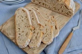 Italienisches Weizen-Brot mit Lievito Madre