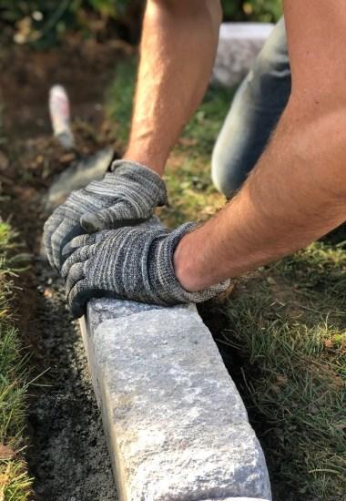 Mein Gartenjahr 2020: Anbaukalender Februar & unser Hochbeet aus Stein