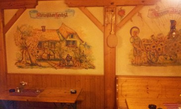 Some of the nice paintings on the wall