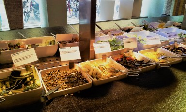 Salad Bar to choose from
