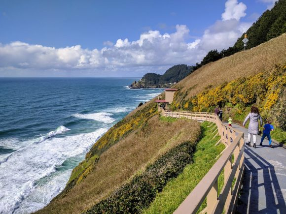 The trail to Sea Lion Caves