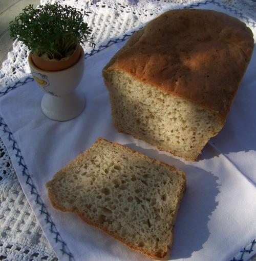 chleb pszenno-żytni na drożdżach
