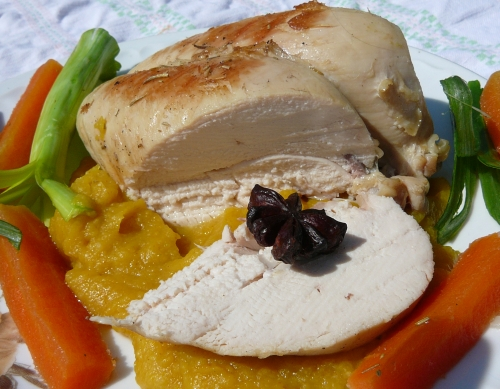 kurczak z anyżem na selerze z kurkumą1