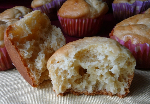 muffinki drożdżowe