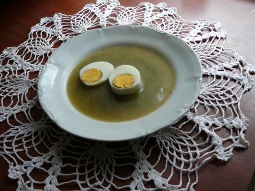 zupa z mlodych pokrzyw zw szczawiem