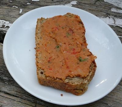 chleb z pastą fasolową1