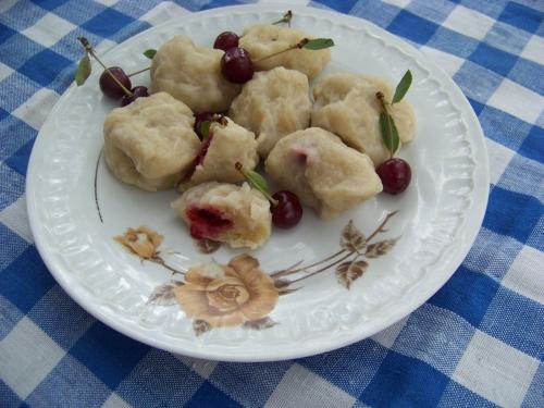 knedle wiśniowe