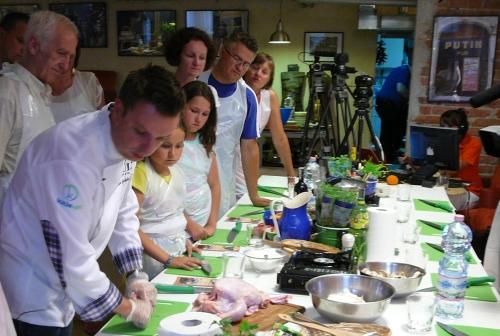 kucharz w akcji