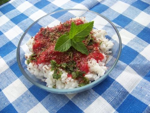 deser ryżowy z miętą1