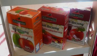 soki jabłkowe