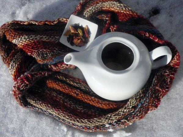 herbatka z jabłkiem i cynamonem