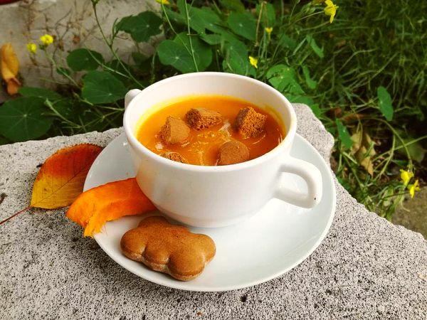krem dyniowo-marchewkowy