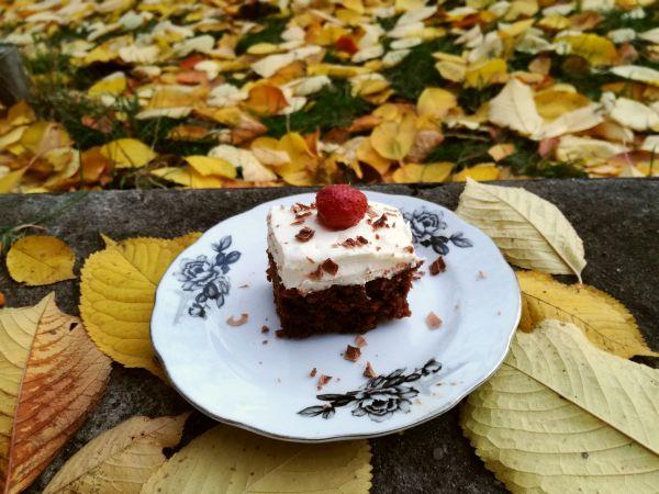 ciasto czekoladowo-kawowe