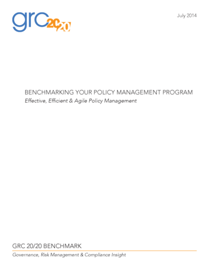 Cover-Page-2014-07-BM-Benchmarking_Your_Policy_Management_Program-WebVersion