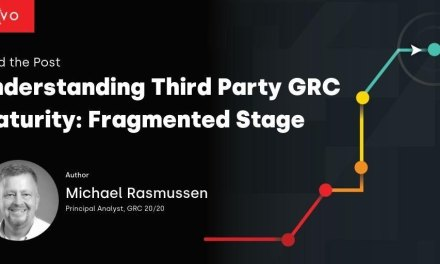 Understanding Third Party GRC Maturity: Fragmented Stage