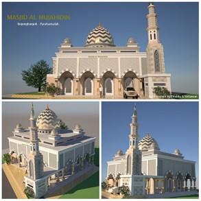 Design Masjid Jami Al Mujahidin - Sukabumi