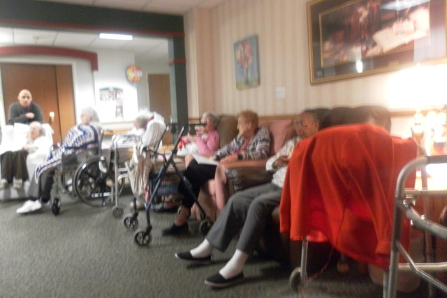 Nursing Home Christmas Carols