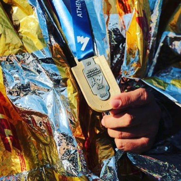 atina maraton medalja