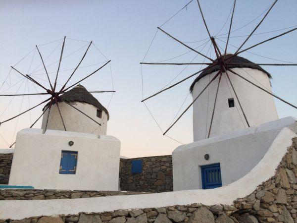 Vetrenjače - zaštitni znak ostrva Mikonos