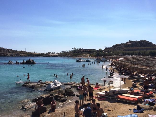 mikonos grčka paraga plaža