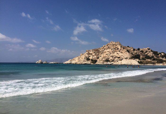 ostrvo naksos plaža mikri vigla