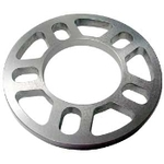 Aluminum 1/4″ Wheel Spacer for 5 x 4-1/2,4-3/4,, 5″ Bolt Pattern