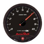 AccuTech SMI Stepper Motor 4.5″ Tach with Warning