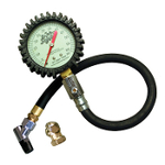 JOES Glow in the Dark Tire Pressure Gauge 0-30 2-1/2″ Face