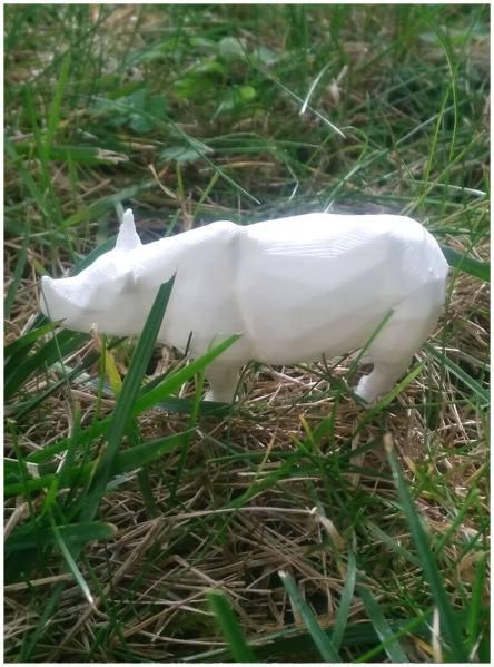 3Dmodel-.stl-Rhinoceros-Lowpoly