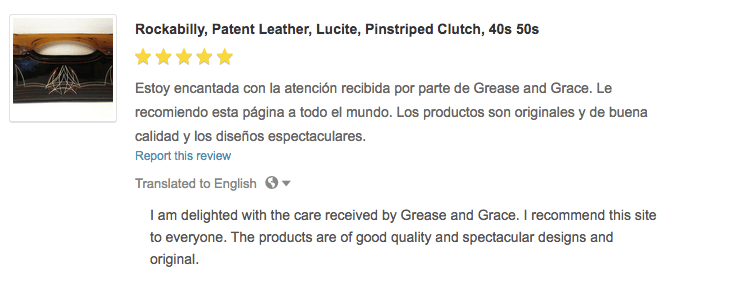 review, grease and grace, pin striped purse, handbages, vintage, retro