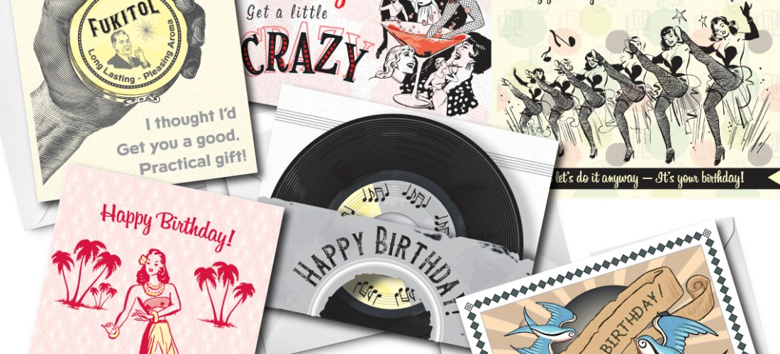 grease and grace, birthday, retro, vintage, birthday cards, greeting cards, dad birthday, mom birthday, stepmom birthday, stepdad birthday