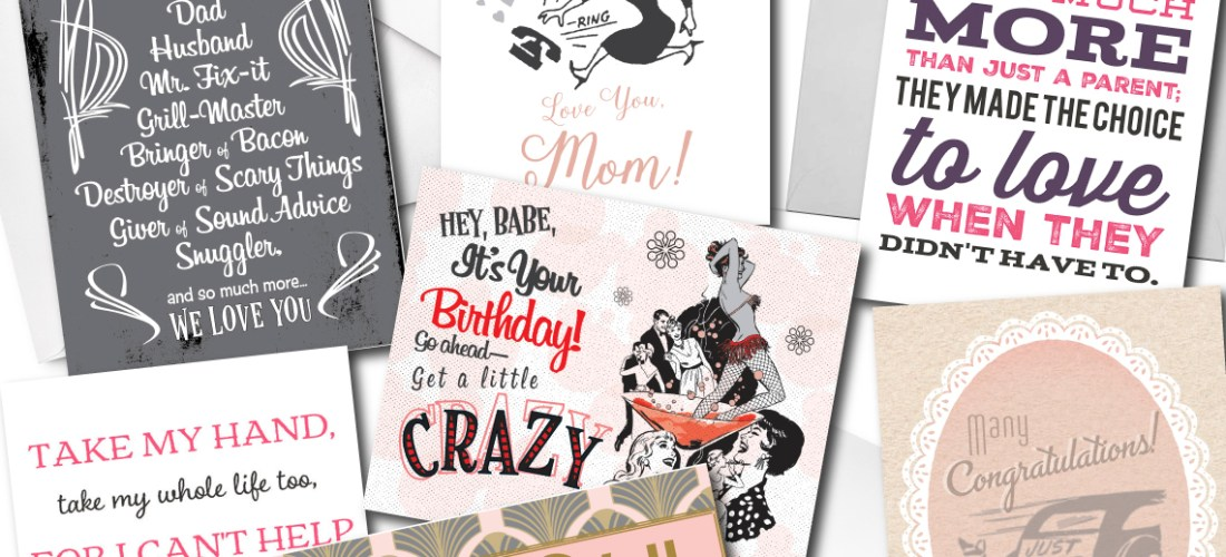Grease and grace boutique gift shop vintage inspired cards gifts grease and grace greeting cards vintage retro mid century modern thank m4hsunfo