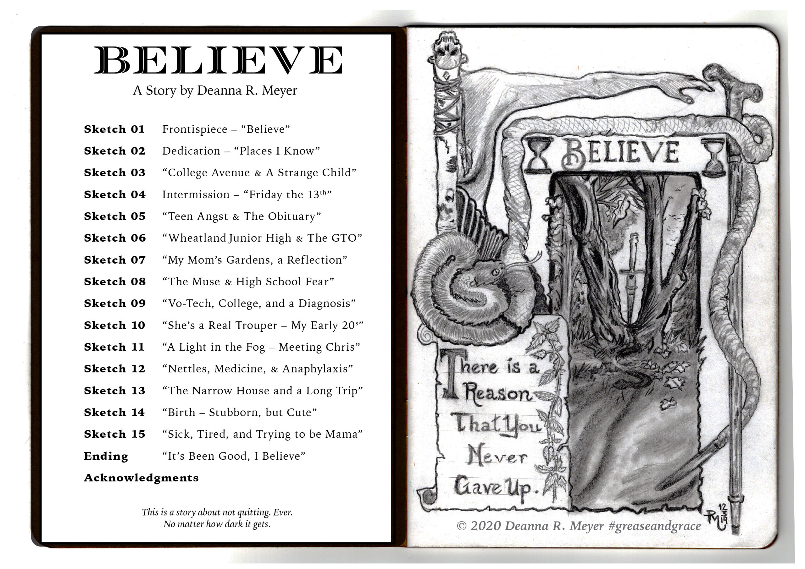 """Believe"" by Deanna R. Meyer Brooklyn Art Library Call No. 373.26-2"