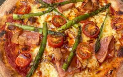 Mortadella and Asparagus