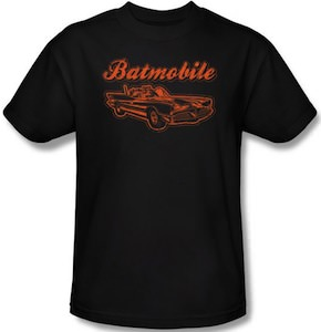 Orange Batmobile t-shirt
