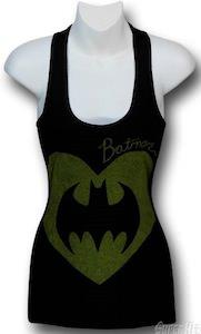 Batman Heart Symbol Women's Tank Top