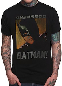 Batman face t-shirt