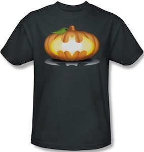Batman Logo On A Pumpkin