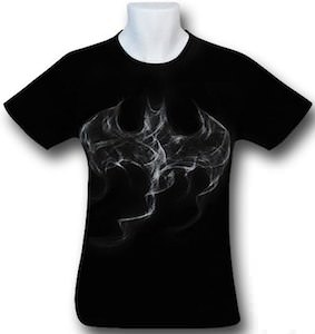 Batman smoke logo t-shirt