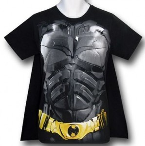 Dark Knight Armor And Caped T-Shirt