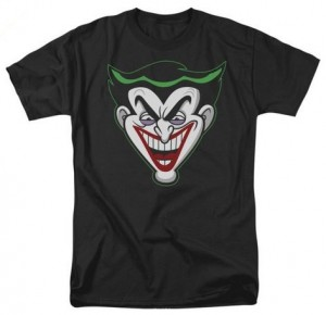 Cartoon Joker Face T-Shirt