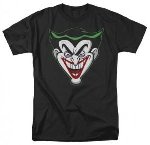 Dc Comics Joker Face Cartoon T Shirt