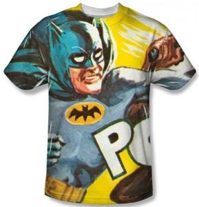 Classic POW On The Chin Batman T-Shirt