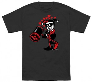 Harley Quinn's Hearts T-Shirt