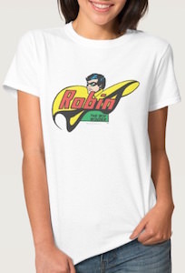 Robin The Boy Wonder Logo T-Shirt