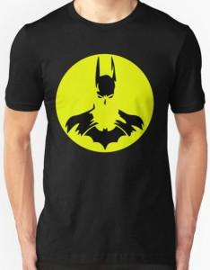 Batman Yellow Circle Logo T-Shirt