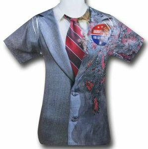 Two Face Suit Jacket Costume T-Shirt