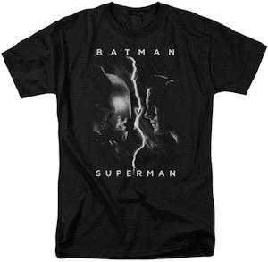 Batman V Superman Face To Face T-Shirt