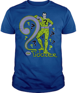 The Riddler And A big Question Mark T-Shirt